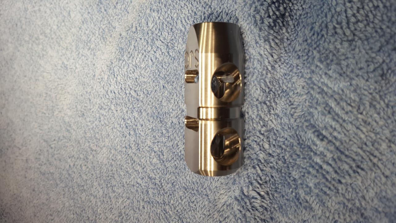 SJC Titanium Pistol Caliber Carbine Compensator