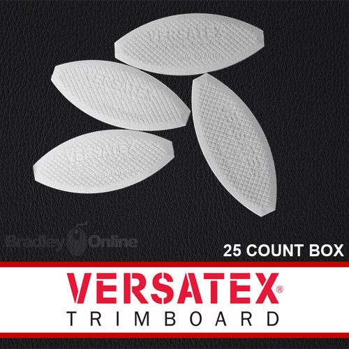 Versatex PVC Joint Biscuits, 25 Count Box
