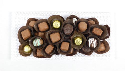 1 Pound Chocolate Tray