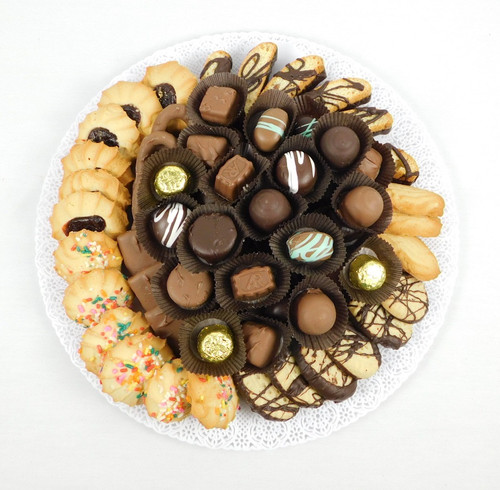 3 Pound Chocolate and Cookie tray