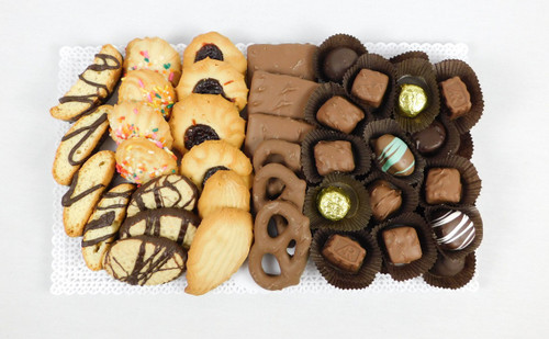 2 Pound Chocolate and Cookie Tray