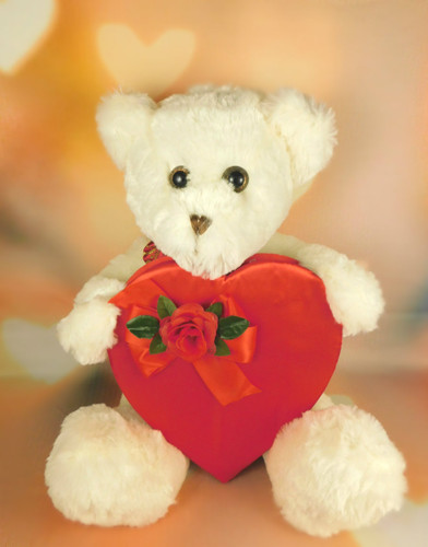 Scrumptious Teddy with Heart