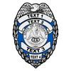 Custom Louisiana Badge Decal