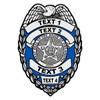 Custom Oklahoma Badge Decal