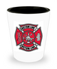 Custom Full Color Maltese Cross Shot Glass