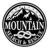 Round Mountain Search & Rescue Decal