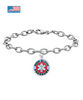 High Blood Pressure Medical Charm Bracelet
