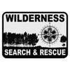 Wilderness Search & Rescue Decal