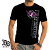 Elite Breed Firefighter Fight For A Cure Cancer Awareness T-Shirt (THF2071)
