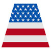 American Flag Helmet Tetra Decal