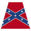 Confederate Flag Helmet Tetra Decal