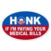 Novelty Obama Honk Oval Decal