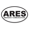 Ares (Emergency Communications) Oval Decal