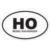 HO (HO Scale Model Railroader) Oval Decal