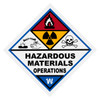 Hazardous Materials Operations Decal