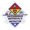 Hazardous Materials Instructor Patch