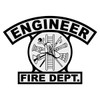 Engineer Shield Rocker Crest Frontal