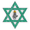 Jewish Rescue Star of David Decal