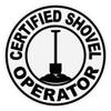 Round Certified Shovel Operator