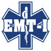 EMT-I on Star of Life Decal