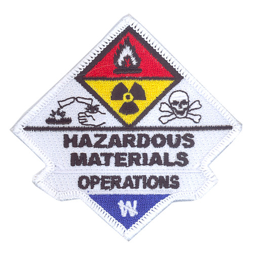 Hazardous Materials Operations Patch