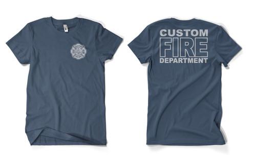 Custom Fire Department Duty Shirt