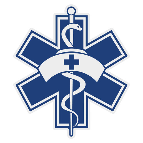 Nurse Star of Life Decal