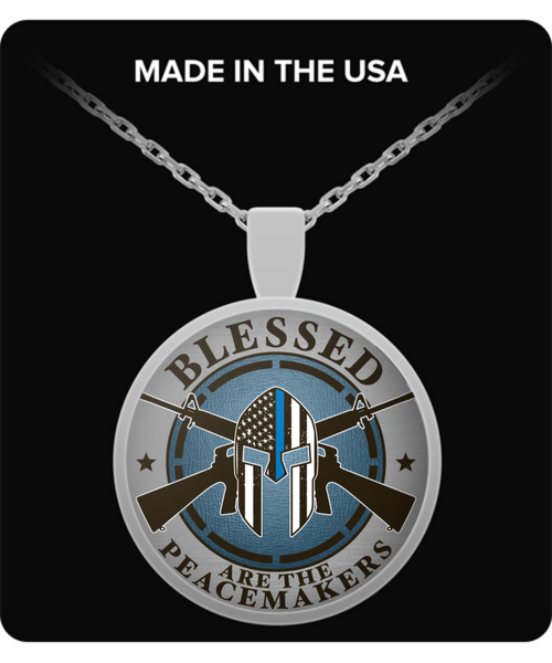 Blessed Are The Peacemakers Necklace