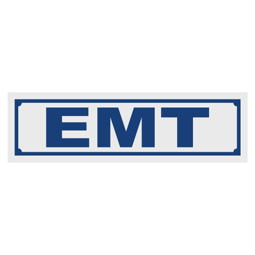 EMT Title Decal