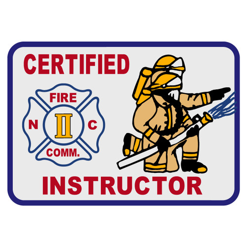 North Carolina Certified Instructor Decal