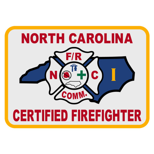 North Carolina Certified Firefighter Level 2 Decal - The Emergency Mall
