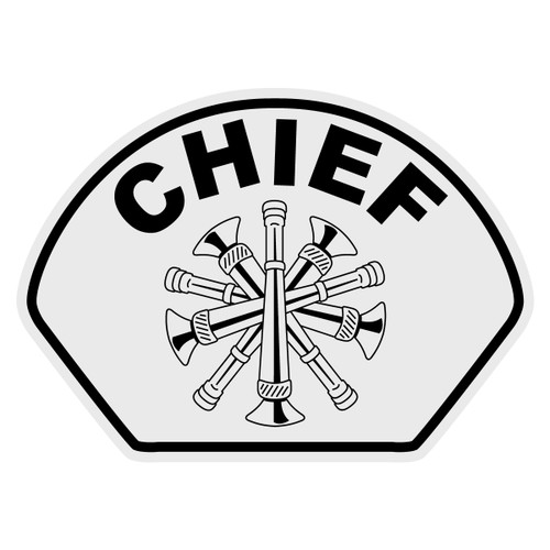 Chief Helmet Front Decal