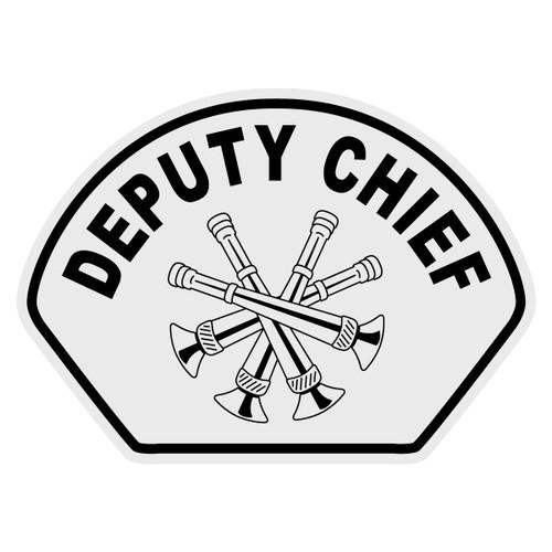 Deputy Chief Helmet Front Decal