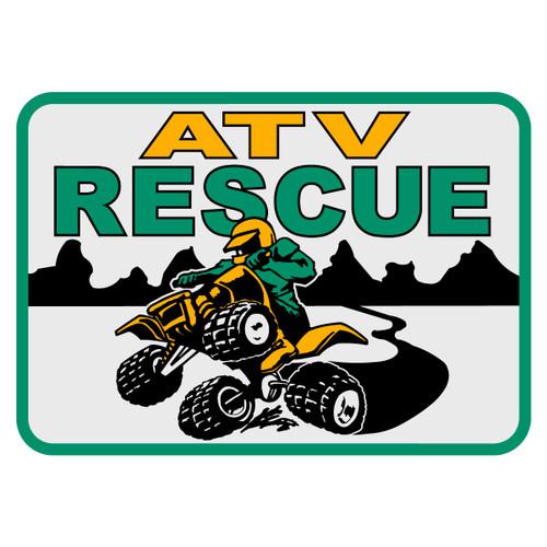 ATV Rescue Decal