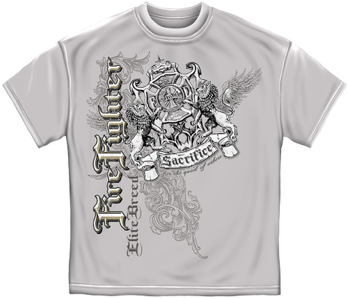 Elite Breed Firefighter T-Shirt (THD007)