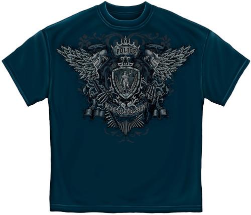Police Protect & Serve T-Shirt (FF2119)