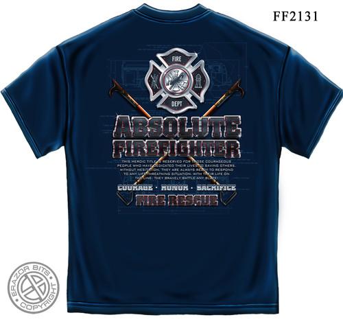 Absolute Firefighter T-Shirt (FF2131)