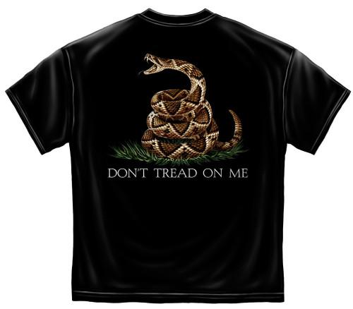 Don't Tread On Me Black T-Shirt