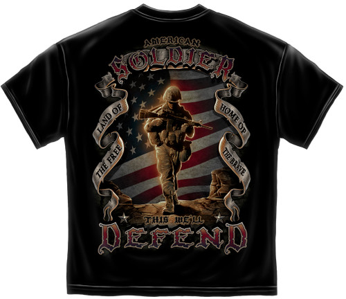American Soldier T-Shirt (MM112)