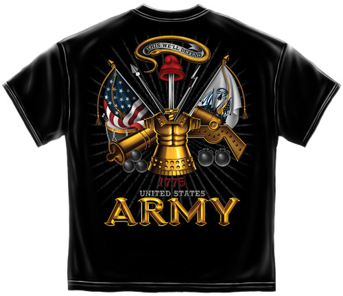 Army This We'll Defend T-Shirt (MM146)