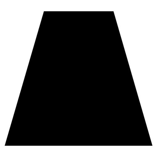 Black Helmet Tetra Reflective Decal