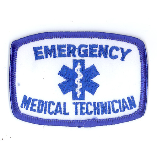Emergency Medical Technician Patch