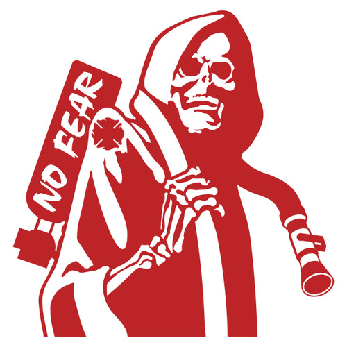 Firefighter Reaper with Hose Decal