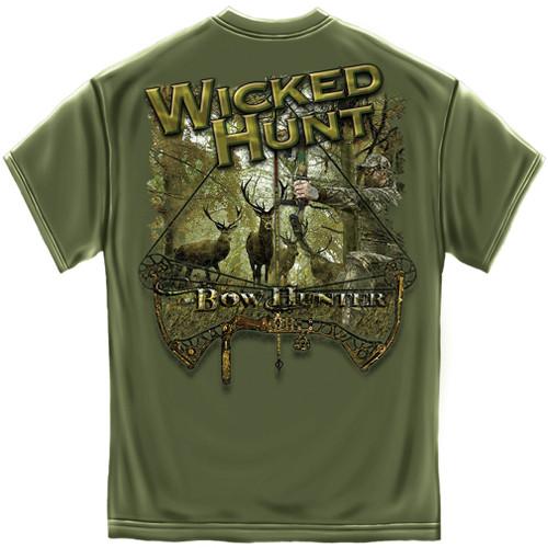 Wicked Hunt Bow Hunter T-Shirt