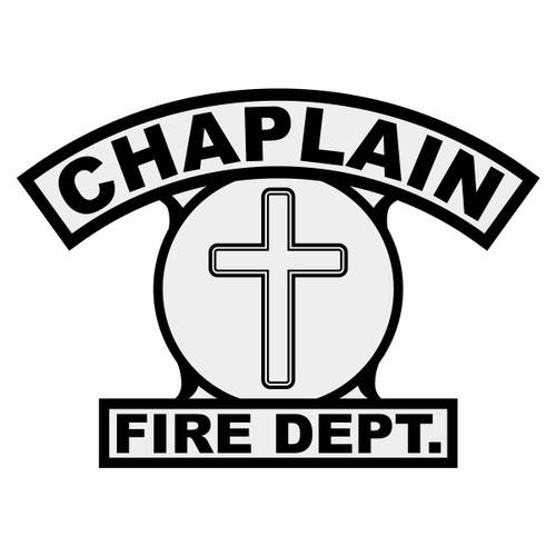 Chaplain w/ Cross Shield Rocker Crest Frontal
