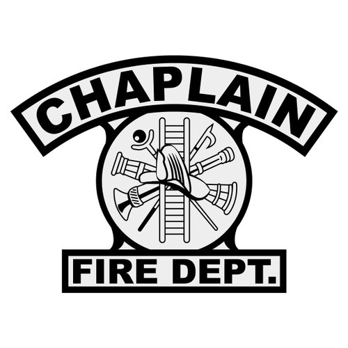 Chaplain w/ Scramble Shield Rocker Crest Frontal