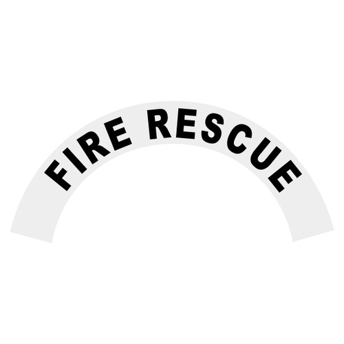 Fire Rescue Helmet Crescent