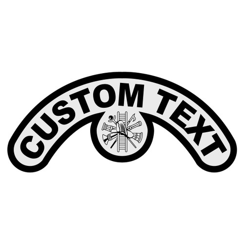 Custom Extended Crescent Decal
