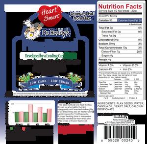 Dr. Reddy's Flax Bread
