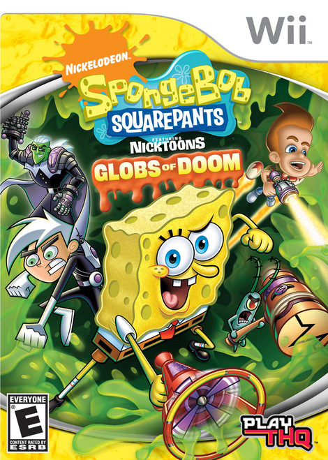 SpongeBob SquarePants featuring Nicktoons: Globs of Doom (Wii)